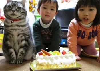 9歳の誕生会