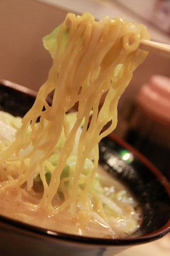 こたん味噌ラーメン麺